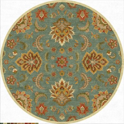 Thornhill Hand-Tufted Area Rug Rug Size: Round 10
