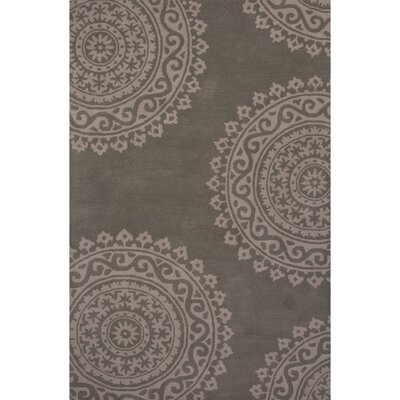 Tiedemann Tufted Wool Hand Tufted Abbey Stone Area Rug Rug Size: 8 x 11