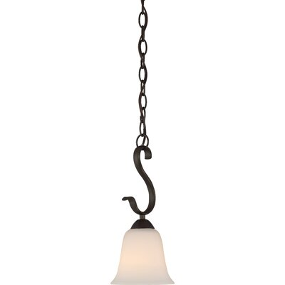 Ehrlich 1-Light Mini Pendant Finish: Forest Bronze