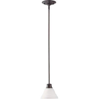 Poneto 1-Light LED Mini Pendant Finish: Mahogany Bronze