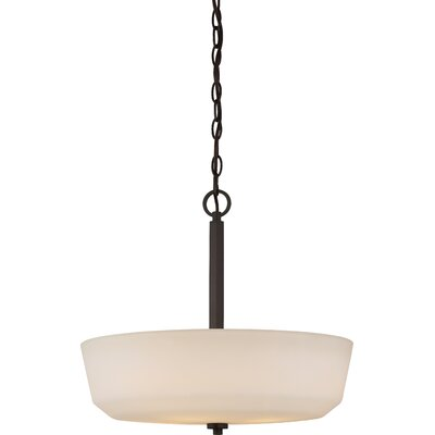 Tolliver 4-Light Bowl Pendant Finish: Forest Bronze
