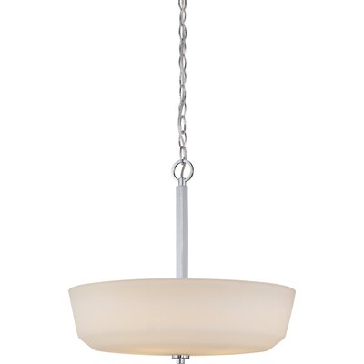 Tolliver 4-Light Bowl Pendant Finish: Polished Nickel
