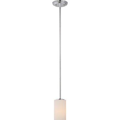 Tomblin 1-Light Mini Pendant Finish: Forest Bronze