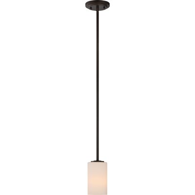 Tomblin 1-Light Mini Pendant Finish: Polished Nickel
