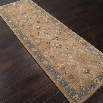 Trinningham Hand-Tufted Wool Area Rug Rug Size: Runner 26 x 8