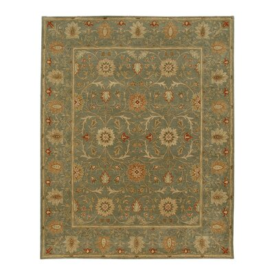 Trinningham Sea Green Area Rug Rug Size: Rectangle 5 x 8