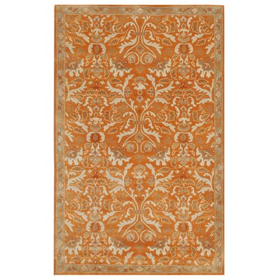 Trinningham Amber Glow Area Rug Rug Size: 96 x 136