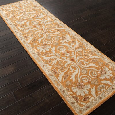 Trinningham Amber Glow Area Rug Rug Size: Runner 2'6