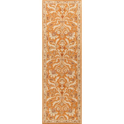 Trinningham Amber Glow Area Rug Rug Size: Runner 26 x 8
