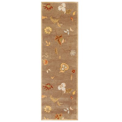 Trinningham Brown Area Rug Rug Size: Rectangle 96 x 136