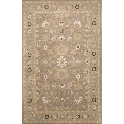 Trinningham Gray/Blue Rug Rug Size: Rectangle 36 x 56