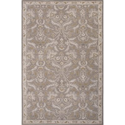 Trinningham Gray Oriental Area Rug Rug Size: Rectangle 5 x 8