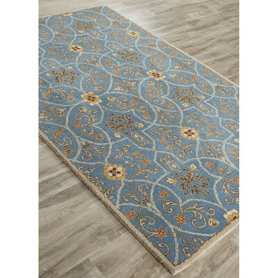 Trinningham Hand-Tufted Blue Area Rug Rug Size: Rectangle 2 x 3