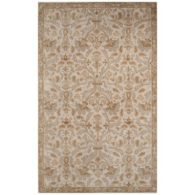 Trinningham Hand-Tufted Gray Area Rug Rug Size: Rectangle 5 x 8
