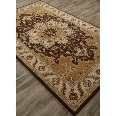 Trinningham Hand-Tufted Beige/Taupe Area Rug Rug Size: Rectangle 2 x 3