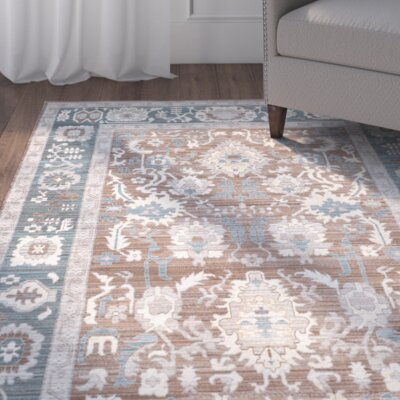 Regis Chocolate/Alpine Area Rug