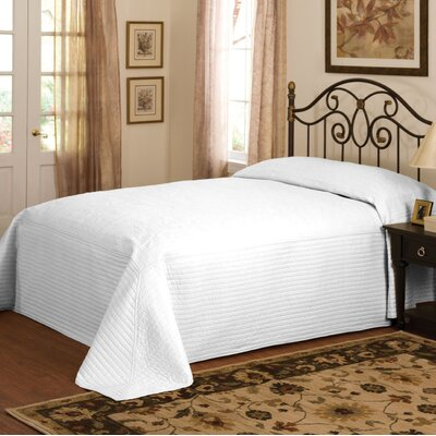 Durand Microfiber Bedspread Size: Twin