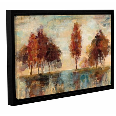 'Field and Forest' by Silvia Vassileva Framed Painting Print
