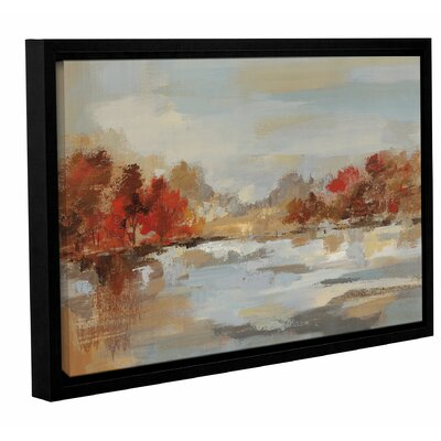 'Late Fall Reminiscence' Framed Painting Print Size: 12