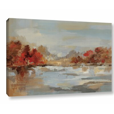 'Late Fall Reminiscence' Painting Print on Wrapped Canvas