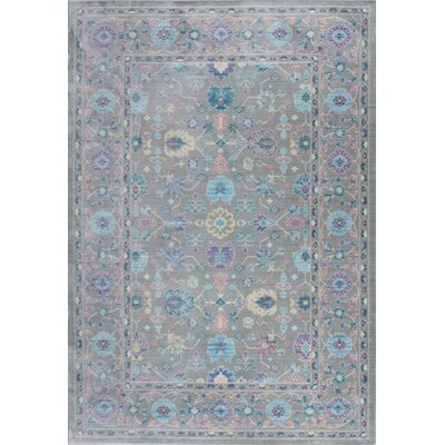 Albany Gray Area Rug Rug Size: 4 x 6
