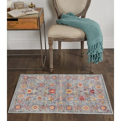 Albany Gray Area Rug Rug Size: 2 x 3