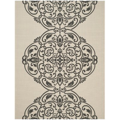 Topiary Signet Gray Area Rug Rug Size: Rectangle 8 x 112