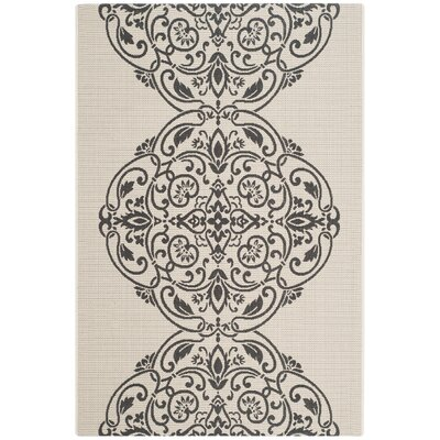 Topiary Signet Gray Area Rug Rug Size: Rectangle 67 x 96