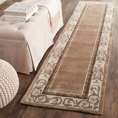 Palmnue Hand Hooked Area Rug Rug Size: Runner 23 x 9