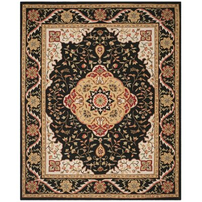 Bryonhall Hand Hooked Area Rug Rug Size: Rectangle 8 x 10