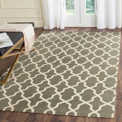 Charing Cross Hand-Woven Area Rug Rug Size: Rectangle 4 x 6