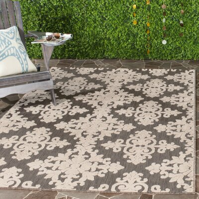 Bryan Taupe Area Rug Rug Size: Rectangle 9 x 12