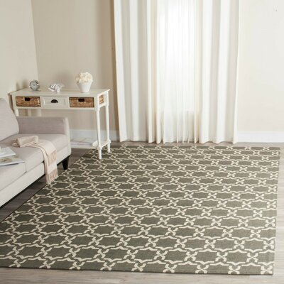 Charing Cross Hand-Woven Area Rug Rug Size: Rectangle 5 x 8