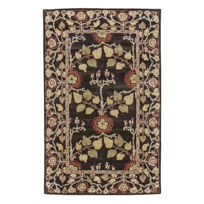 Trinningham Deep Charcoal Area Rug Rug Size: Rectangle 2 x 3