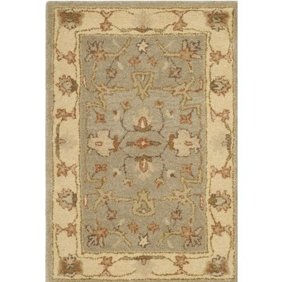 Otwell Hand-Tufted Gray/Beige Area Rug Rug Size: Rectangle 3 x 5