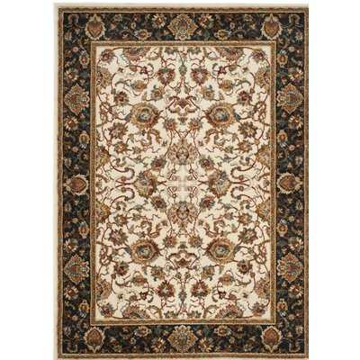 Lowe Beige/Brown Area Rug Rug Size: Rectangle 9 x 12