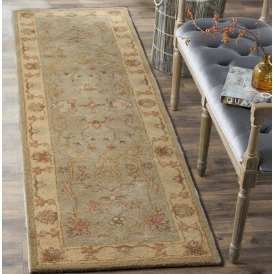 Otwell Hand-Tufted Gray/Beige Area Rug Rug Size: 8 x 10