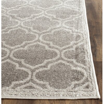 Carman Gray Indoor/Outdoor Area Rug