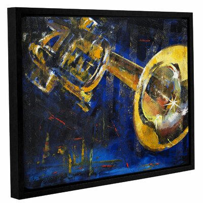 Trumpet Framed Painting Print