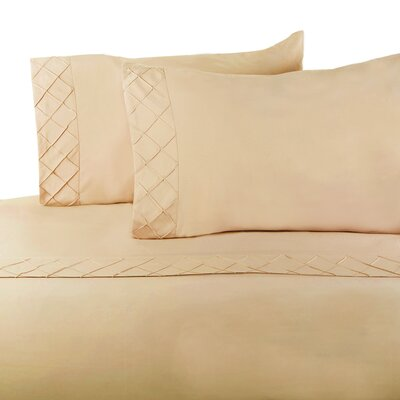 Riverview 4 Piece Sheet Set Size: California King, Color: Taupe