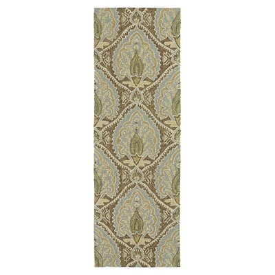 Manning Coffee Indoor/Outdoor Area Rug Rug Size: 9 x 12