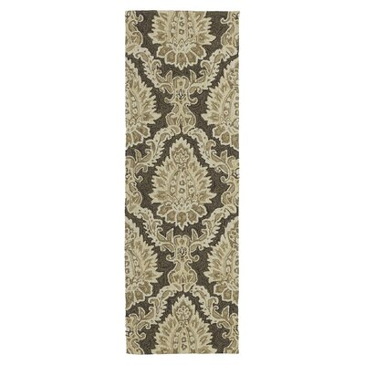 Manning Cedar Hamock Brown Floral and plants Indoor/Outdoor Area Rug Rug Size: 2 x 3