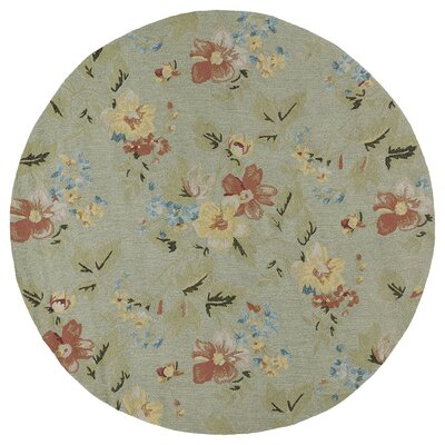 Manning Indoor/Outdoor Area Rug Rug Size: Round 59