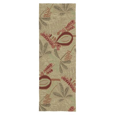 Manning Linen Indoor/Outdoor Area Rug Rug Size: 5 x 76