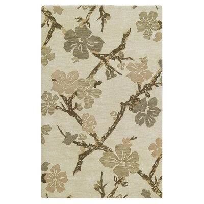 Riley Dogwood Linen Area Rug Rug Size: 2 x 3