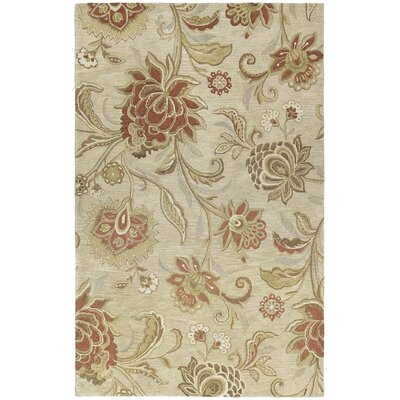 Connor Floral Wool Hand-Tufted Area Rug