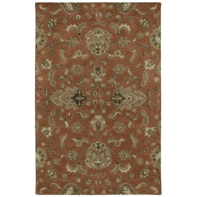 Cortland Copper Europa Area Rug Rug Size: Rectangle 2 x 3