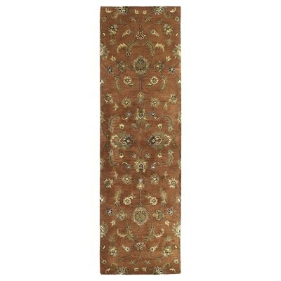 Cortland Copper Europa Area Rug Rug Size: Runner 23 x 79