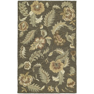 Breen Charcoal Hana Rug Rug Size: Rectangle 76 x 9