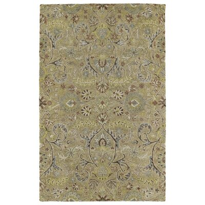 Casper Gold Athena Rug Rug Size: Rectangle 4 x 6